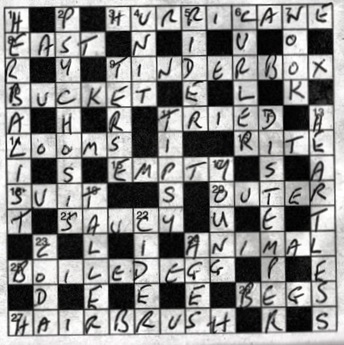 Crossword 1